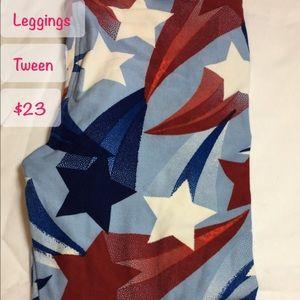 LuLa Roe Tween leggings